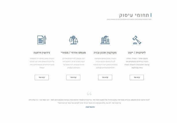 עיצוב אתר לעורך דין משפחה